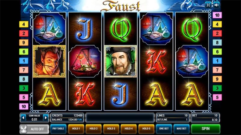 Изображение игрового автомата Faust 1