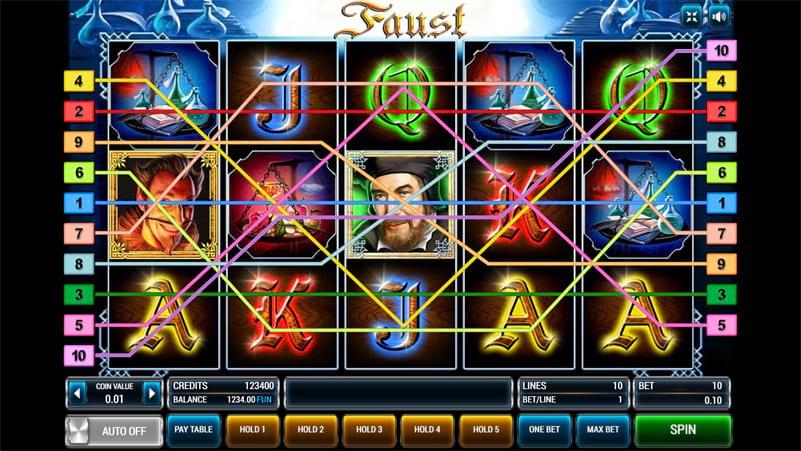 Изображение игрового автомата Faust 2