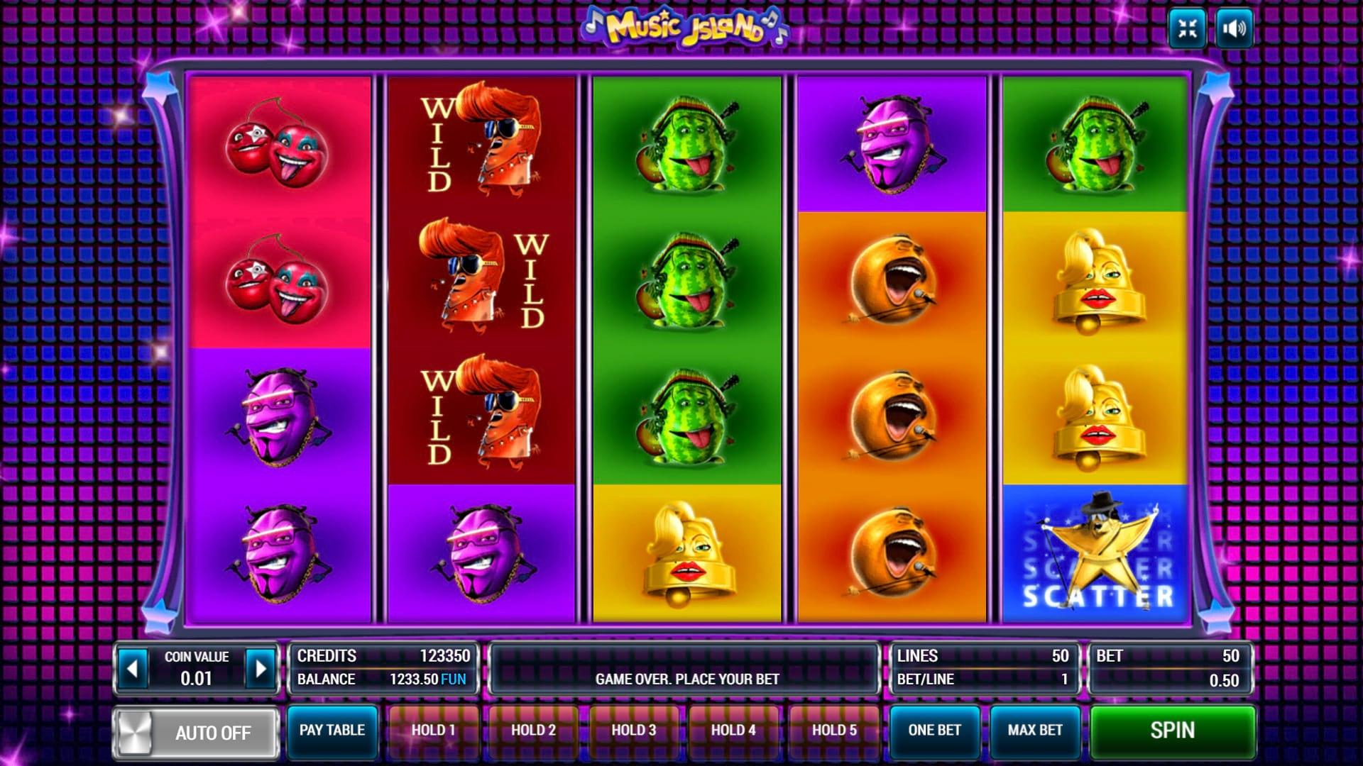 Изображение игрового автомата Music Island 2
