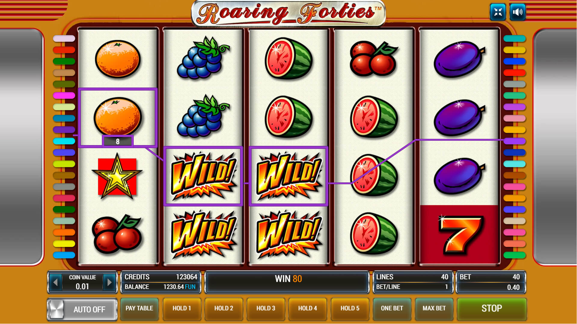 Изображение игрового автомата Roaring Forties 2
