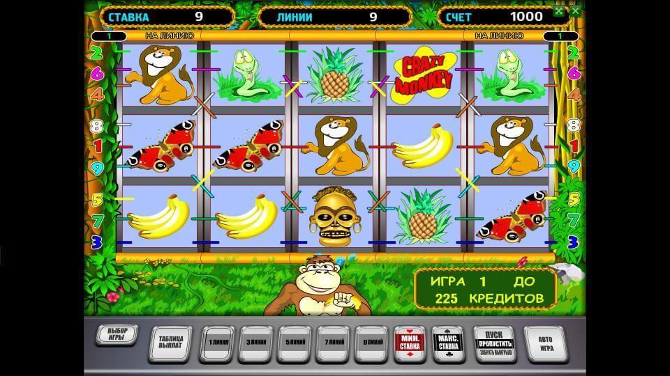 Изображение игрового автомата Crazy Monkey 2