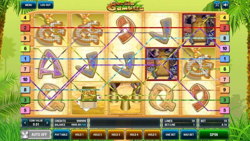 Изображение игрового автомата Gorila Gambila 1