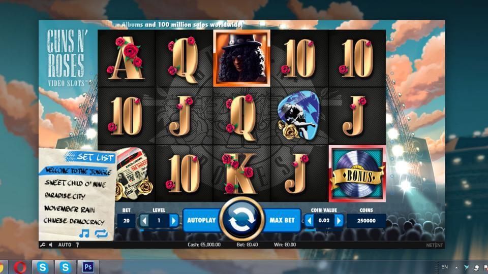 Изображение игрового автомата Guns n' Roses 1