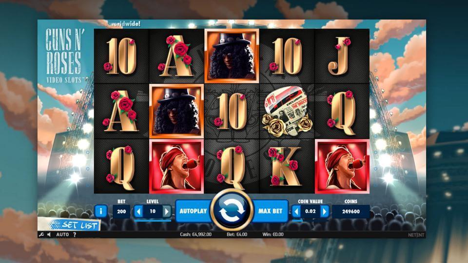 Изображение игрового автомата Guns n' Roses 2