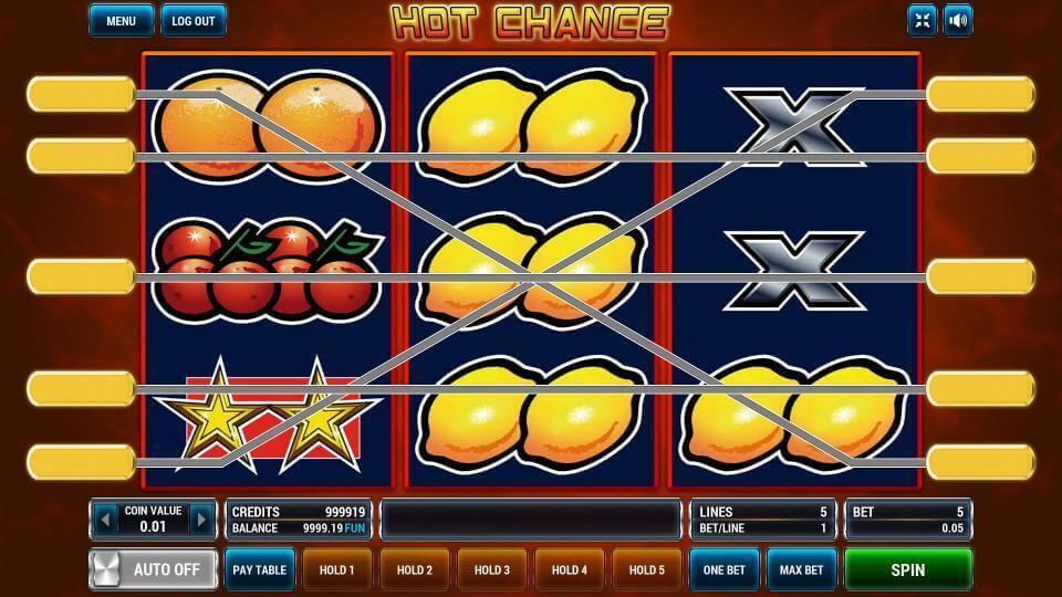 Изображение игрового автомата Hot Chance 1