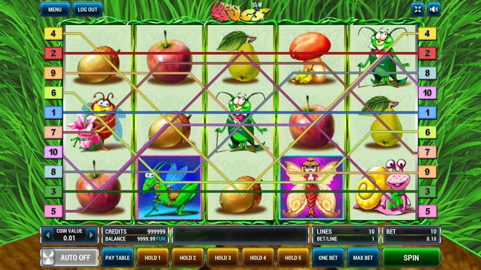 Изображение игрового автомата Lucky Bugs 1