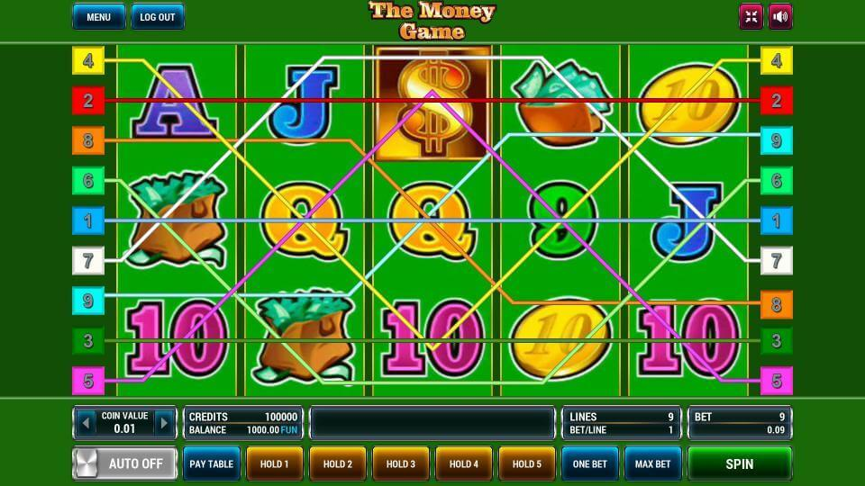 Изображение игрового автомата The Money Game 1