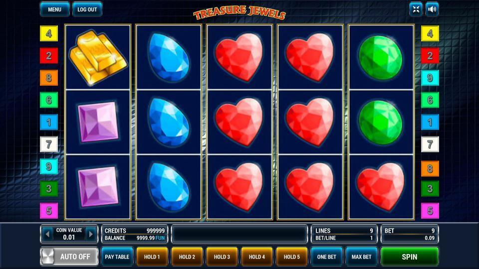 Изображение игрового автомата Treasure Jewels 2