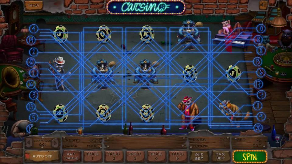 Изображение игрового автомата Catsino 1