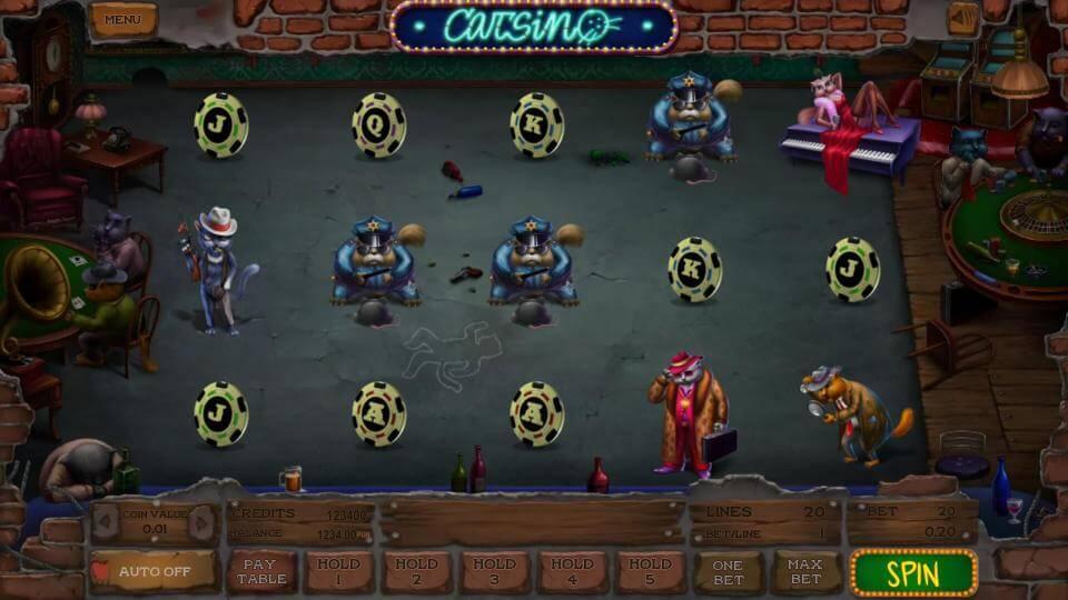 Изображение игрового автомата Catsino 2