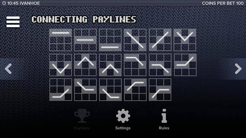 Изображение игрового автомата Ivanhoe 4