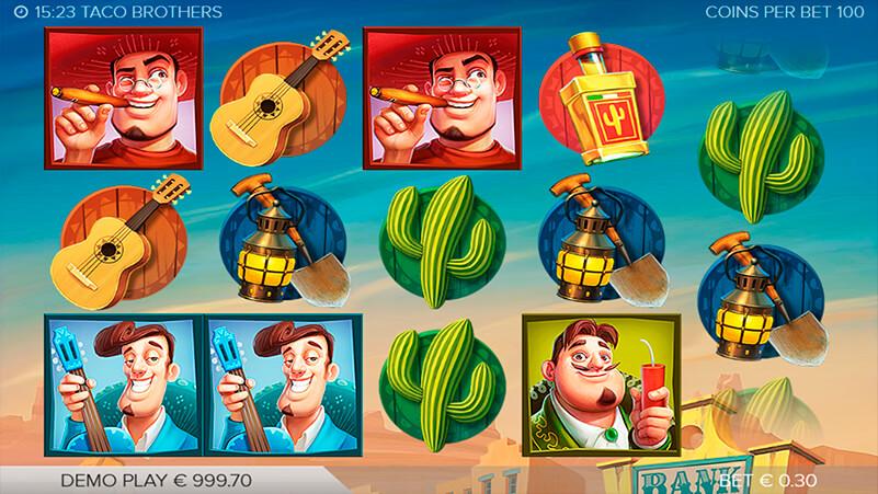 Изображение игрового автомата Taco Brothers 1