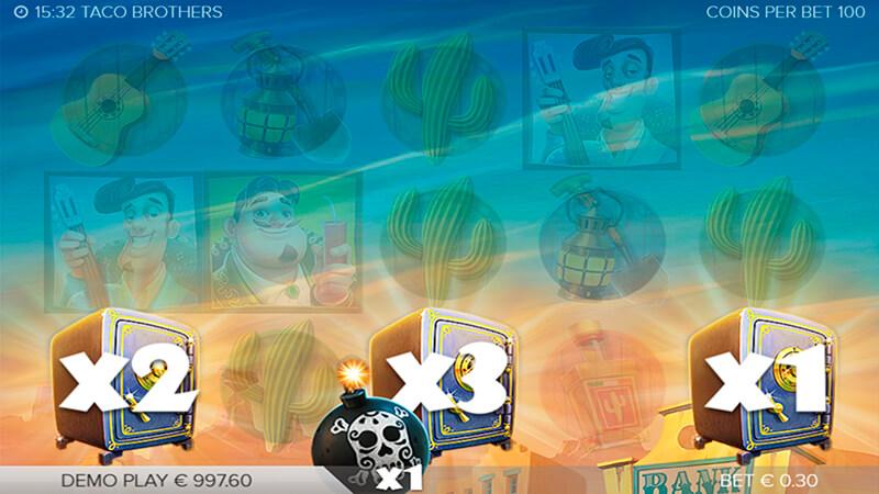 Изображение игрового автомата Taco Brothers 3