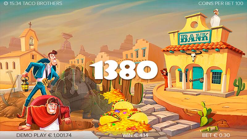 Изображение игрового автомата Taco Brothers 4