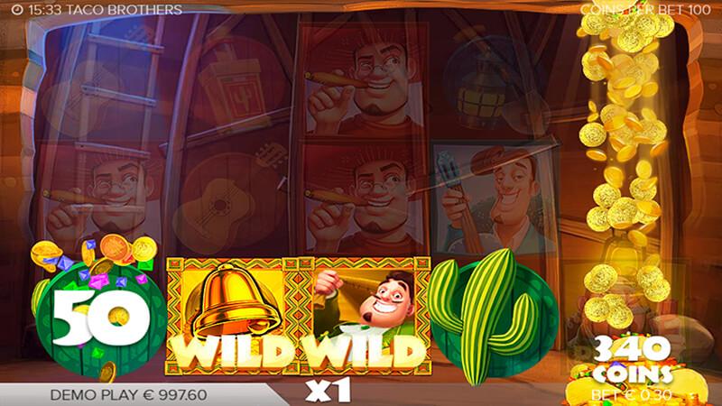 Изображение игрового автомата Taco Brothers 2