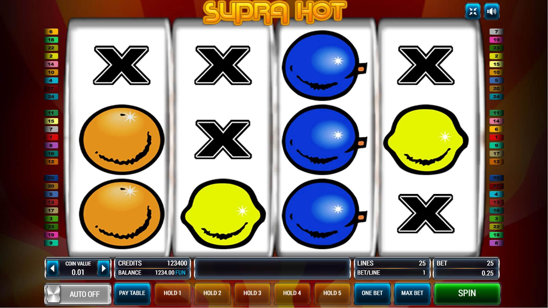 Изображение игрового автомата Supra Hot 1