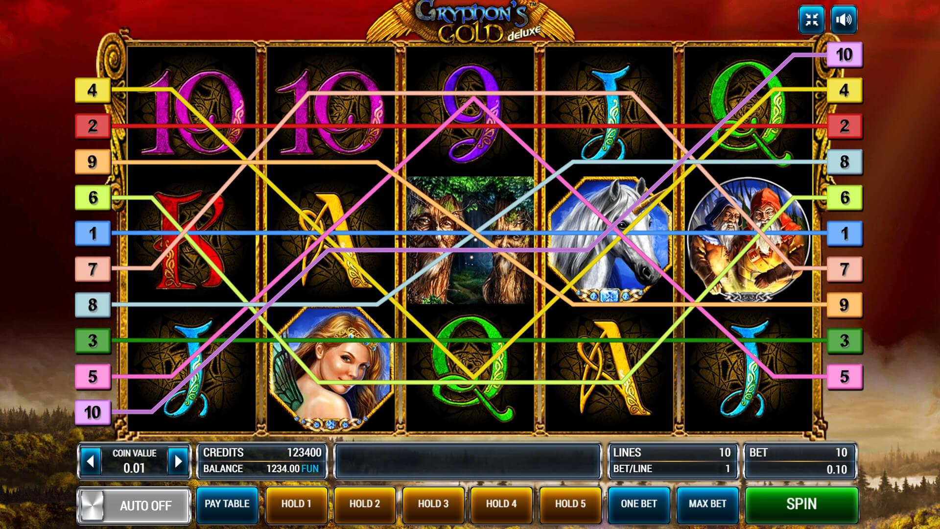 Изображение игрового автомата Gryphon's Gold Deluxe 2