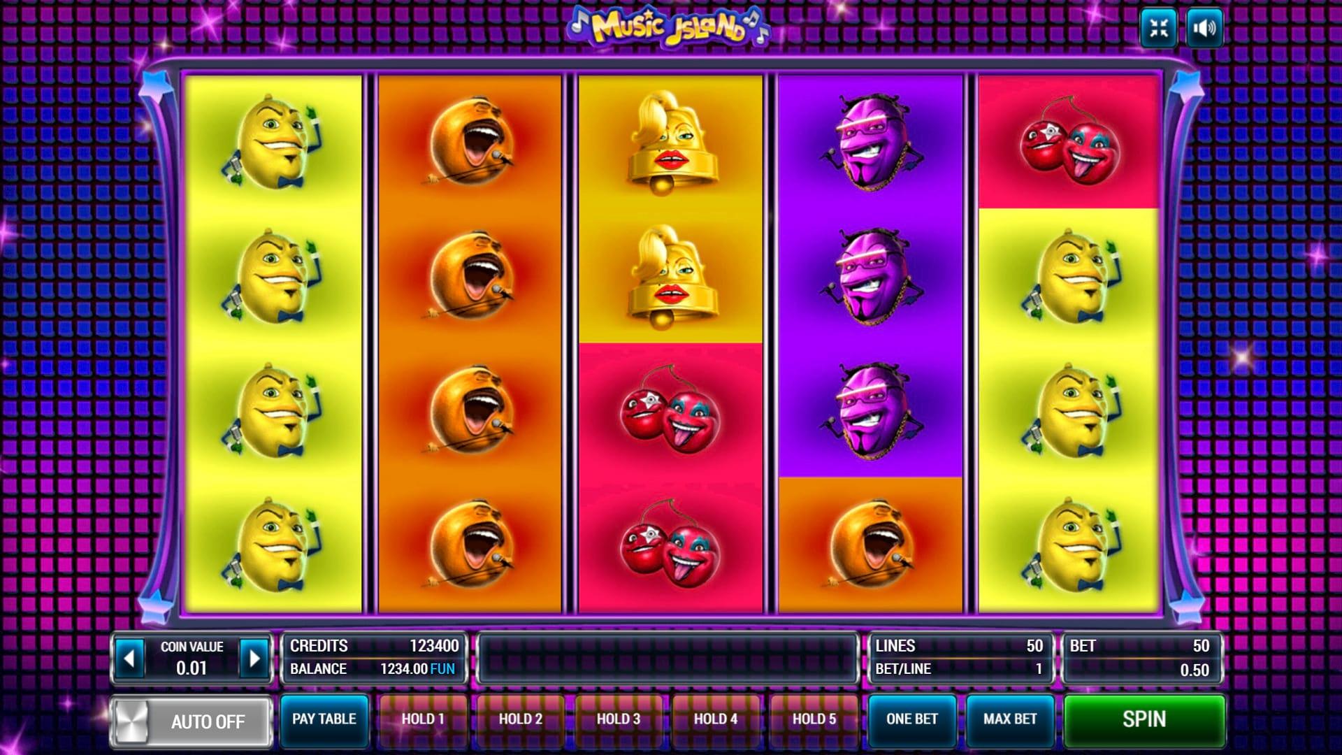 Изображение игрового автомата Music Island 1