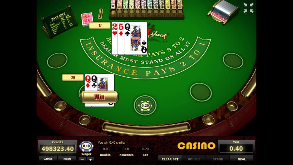 Изображение игрового автомата European BlackJack 2