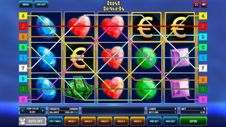 Изображение игрового автомата Just Jewels 1