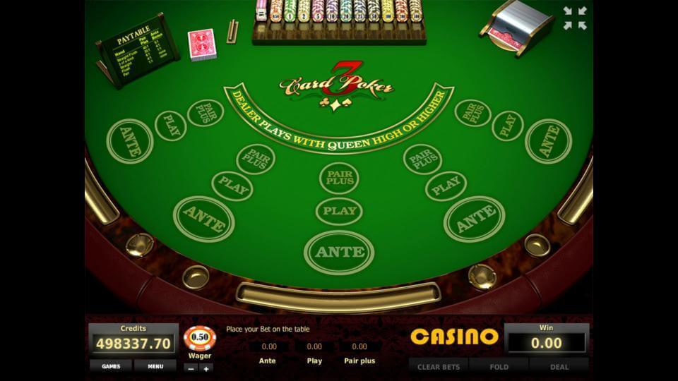 Изображение игрового автомата Three Card Poker 1
