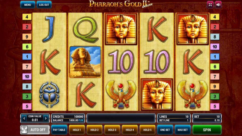 Изображение игрового автомата Pharaoh's Gold 2 Deluxe 2
