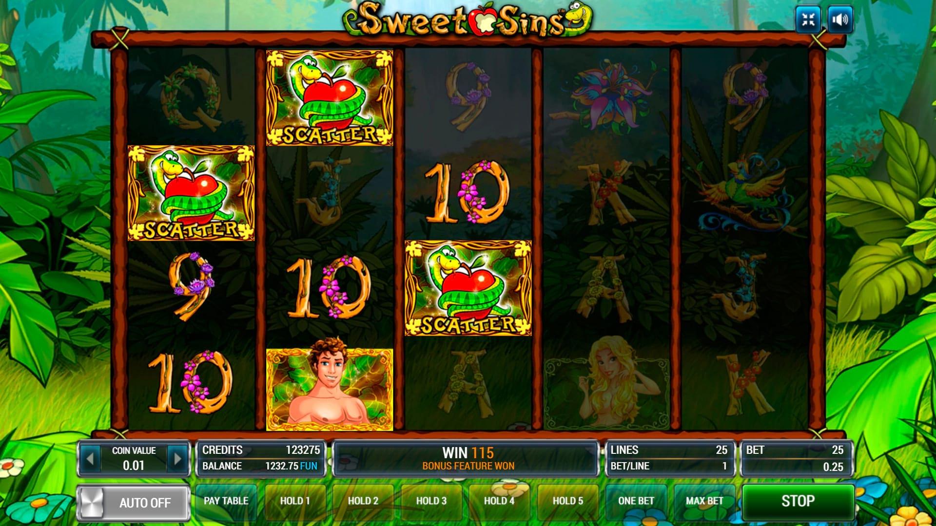 Изображение игрового автомата Sweet Sins 2
